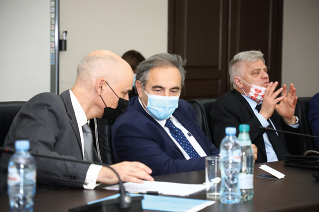 """""""Regarding the coronavirus medicine, we want Georgia, as our friend-country, to be a partner of Israel. Georgia has very good medical staff and we believe that this cooperation will be very successful and fruitful."""" - Prof. Nadir Arber"""