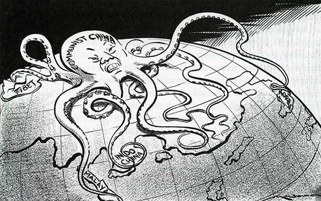 Cartoon by Gordon Edward George Minhinnick