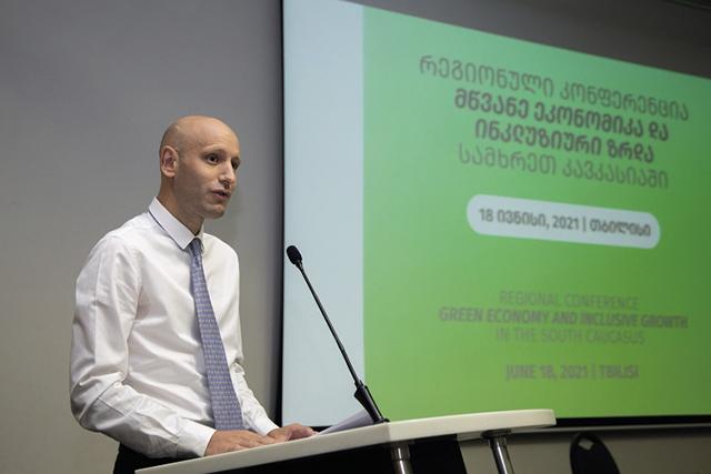 Alexander Darras, Team leader at the EU delegation to Georgia