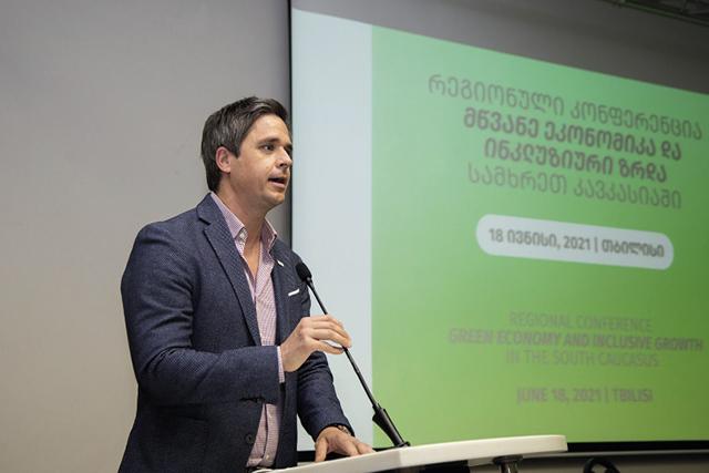 Alex Karner, Head of the Tbilisi Office of the Austrian Development Agency