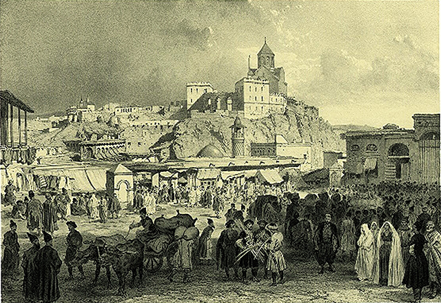 The city became into a commercial hub which was closely linked to the famous Silk Roads.