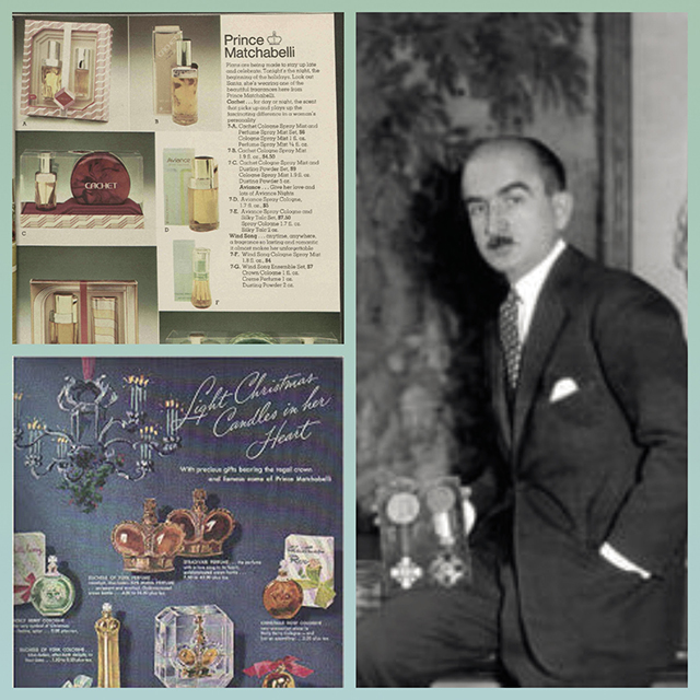 In 1936, Matchabelli's ex-wife Norina Gilli sold the company to Saul Ganz for $250,000. Image source: latinasdeayer.blogspot.com