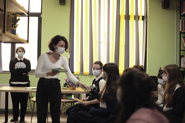 Mariam educates Georgia's young people about environmental protection / Tbilisi International School