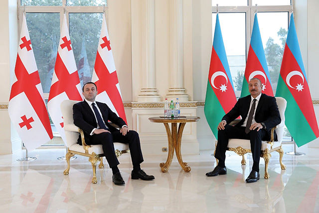 PM Garibashvili in Baku this week