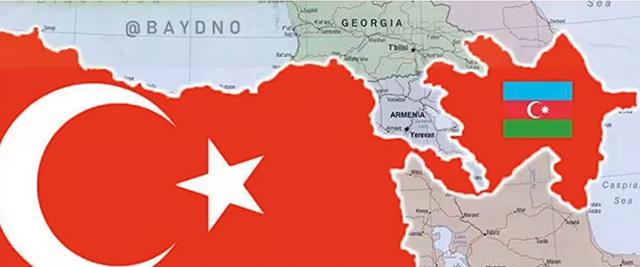 The Turkish-Azerbaijani arc encircling Iran if the corridor is opened