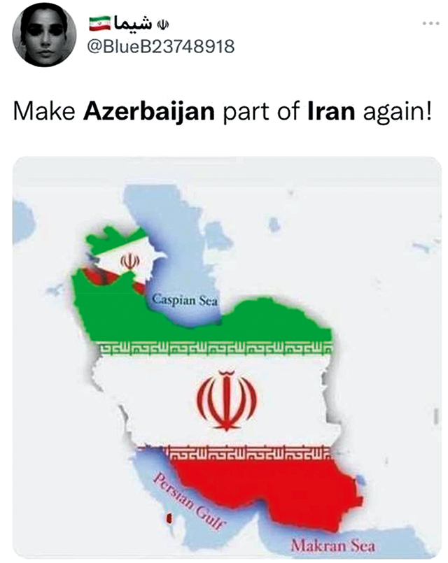 An example of the Iranian narrative