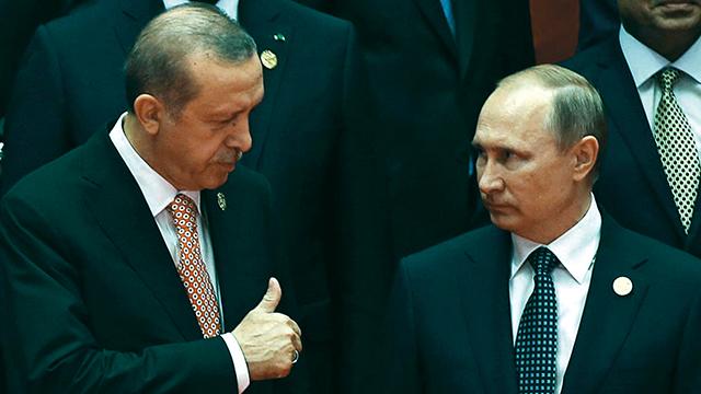 Turkey's President Recep Tayyip Erdogan and Russia's President Vladimir Putin. (File photo: AFP)